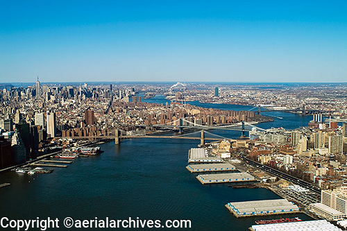 Aerialarchives com east river new york city aerial photograph