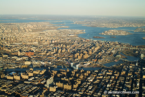 &copy aerialarchives.com Bronx, New York, aerial photograph, AHLB3023 AN766P