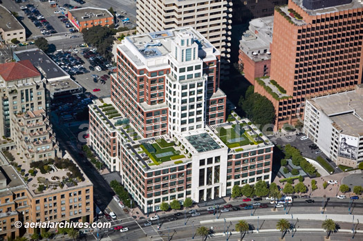 &copy aerialarchives.com  aerial photograph Gap Headquarters, San Francisco, CA AHLB3650, AFKX3R