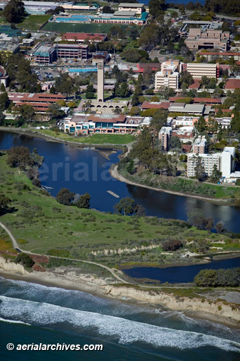 &copy aerialarchives.com University of California Santa Barbara, UCSB, Santa Barbara, California, CA, aerial photograph, AHLB4497.jpg, B0DJMK