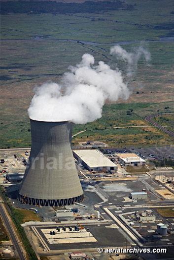&copy aerialarchives.com aerial photograph of Salem nuclear power plant New Jersey AHLB5263