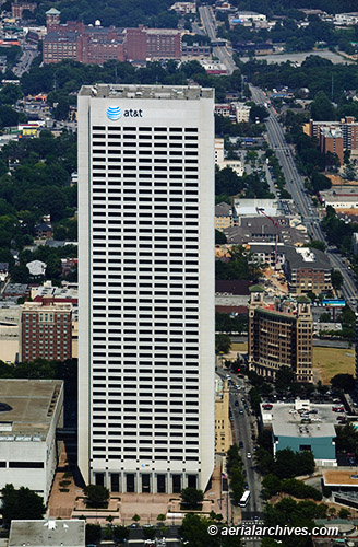 &copy aerialarchives.com aerial photograph AT&T Midtown Center, Atlanta, Georgia  AHLB5534 BP0TND