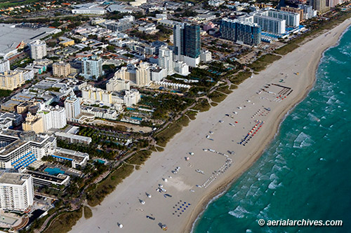&copy aerialarchives.com Miami Beach, Florida aerial photograph, AHLB7317 BGK30Y