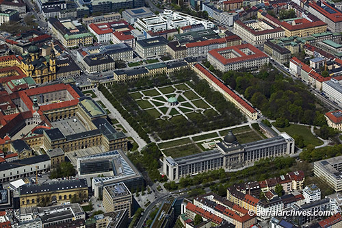 &copy aerialarchives.com aerial photograph of Hofgarten AHLB7780, C1D254