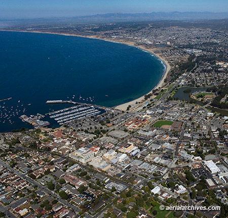 &copy aerialarchives.com aerial photograph Monterey California AHLB7919,