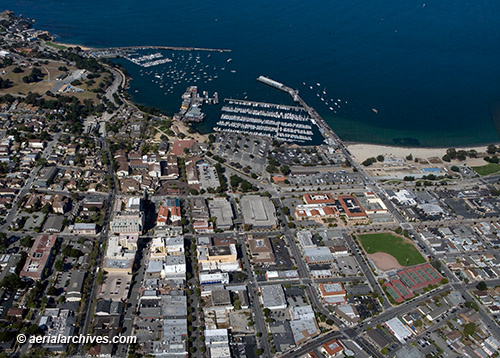 &copy aerialarchives.com aerial photograph Monterey, California AHLB7920