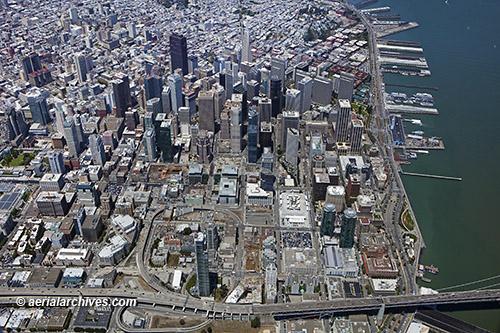 aerial photo Transbay Center San Francisco