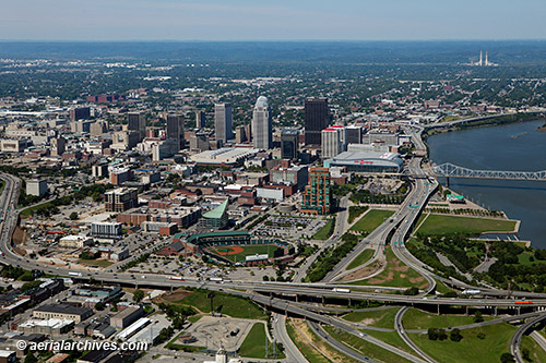 Aerial Photography of Louisville Kentucky