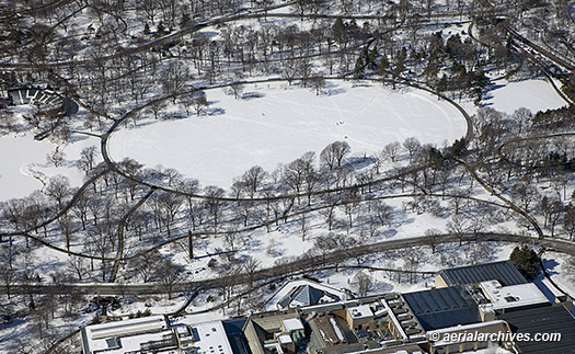 Snow Covered Central Park Manhattan