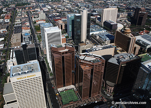 &copy aerialarchives.com  aerial downtown Phoenix Arizona AHLE0136