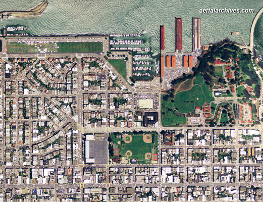 Aerial Maps Of San Francisco - Current aerial maps