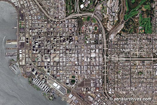 San Diego Map City.Aerial Photo Maps Of The City And County Of San Diego Ca