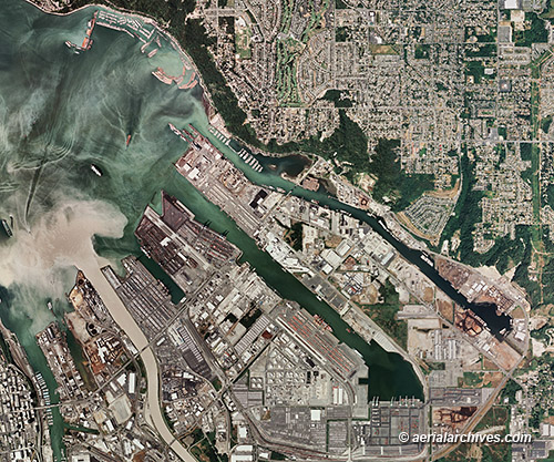 List of lighthouses in the United States - Wikipedia Aerial pictures of washington harbors