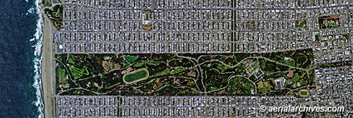 &copy aerialarchives.com aerial photo map Golden Gate Park San Francisco AHLV3080 BH1A6H