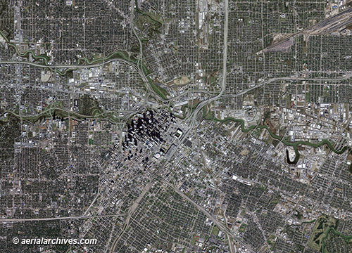 Aerial Maps And Satellite Imagery Of Texas - Satellite map of texas
