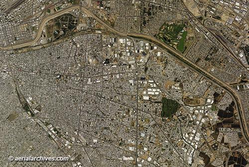 Aerial Maps of Ciudad Juárez