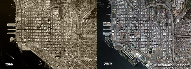 Historical Aerial Photography Change Comparison San Diego County California AHLV3398C49K1K