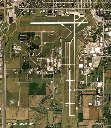 Aerial Photographs of EAA AirVenture Oshkosh Wisconsin